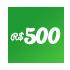 Doação mensal R$500