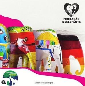 Elephant Parede e o SEB no Rio de Janeiro em novembro
